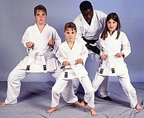 100% Cotton 8oz. Karate Uniform -- White